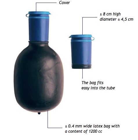 portable male urinary device by urin8 uribag