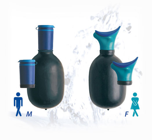 male and female portable urinary devices by urin8 uribag